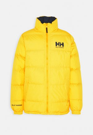 REVERSIBLE PUFFER JACKET - Winter jacket - young yellow