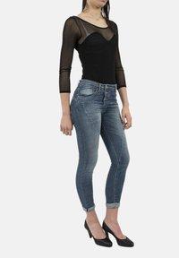 PLEASE - Jeans Skinny Fit - bleu - 1