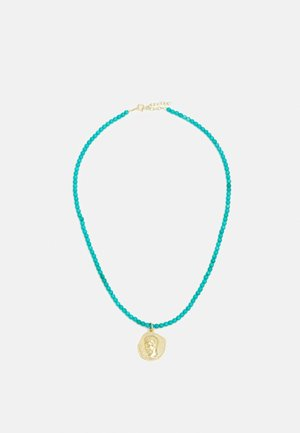NECKLACE - Halsband - turquoise/gold
