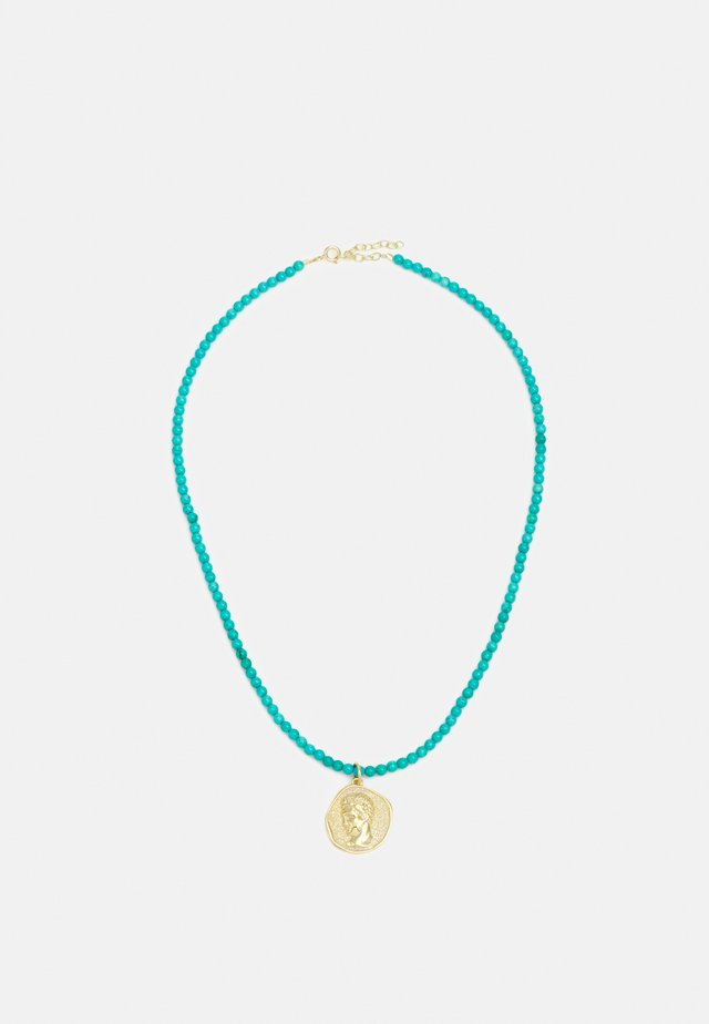 NECKLACE - Collier - turquoise/gold