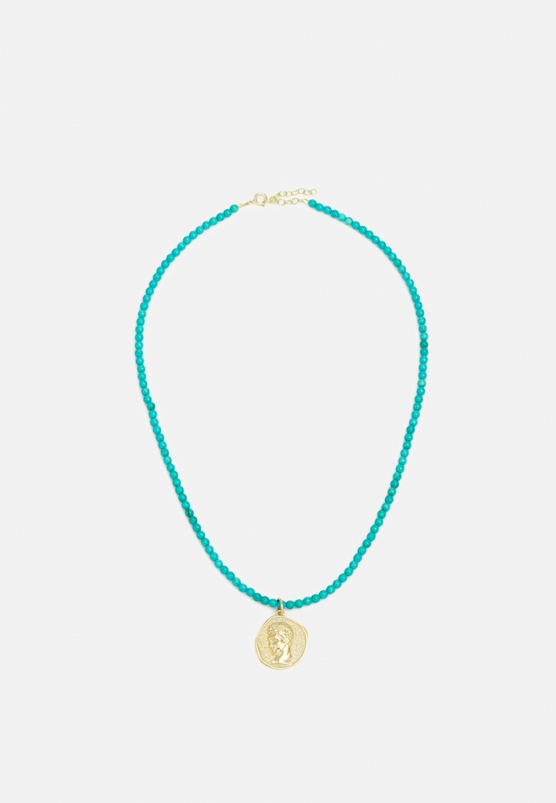 Hermina Athens - NECKLACE - Necklace - turquoise/gold