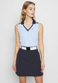 Calvin Klein Golf - PEDRO SLEEVELESS  - Polotričko - light blue - 0