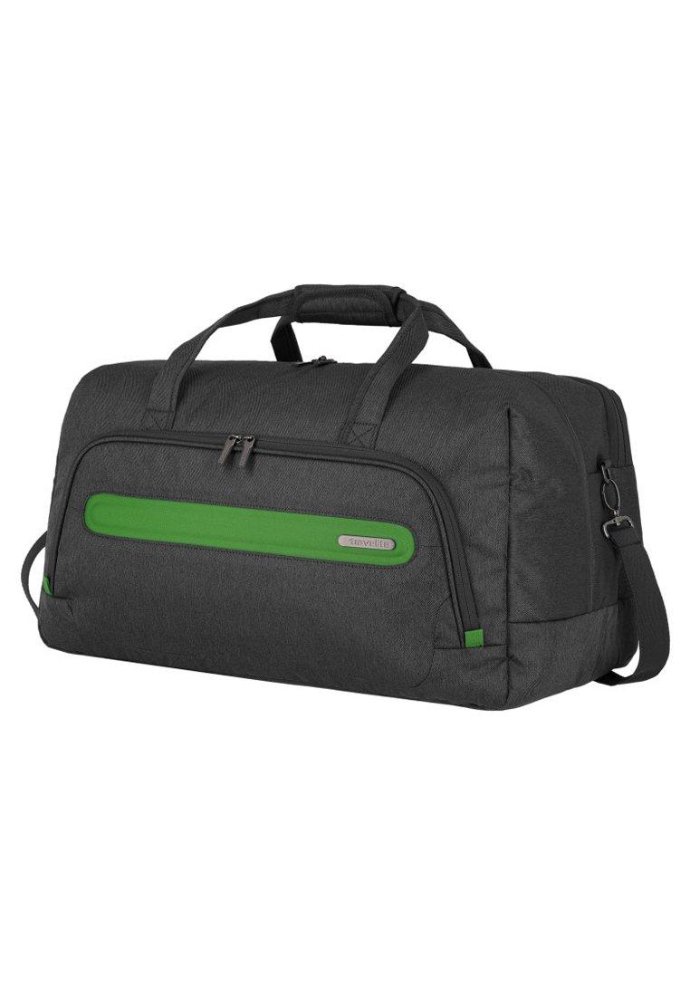 Travelite Weekender - anthracite/green/grau - Herrentaschen tj5xy