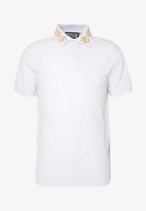 BAROQUE COLLAR GOLD - Polo shirt - white