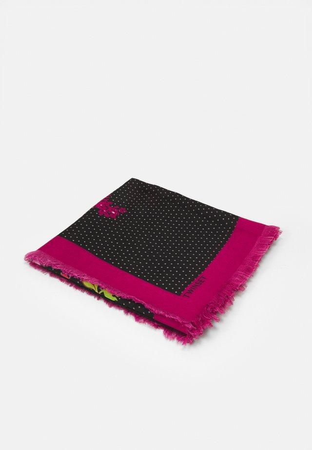 Šátek - black/multicolor