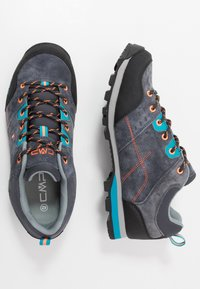CMP - ALCOR LOW TREKKING SHOE WP - Hiking shoes - antracite - 1