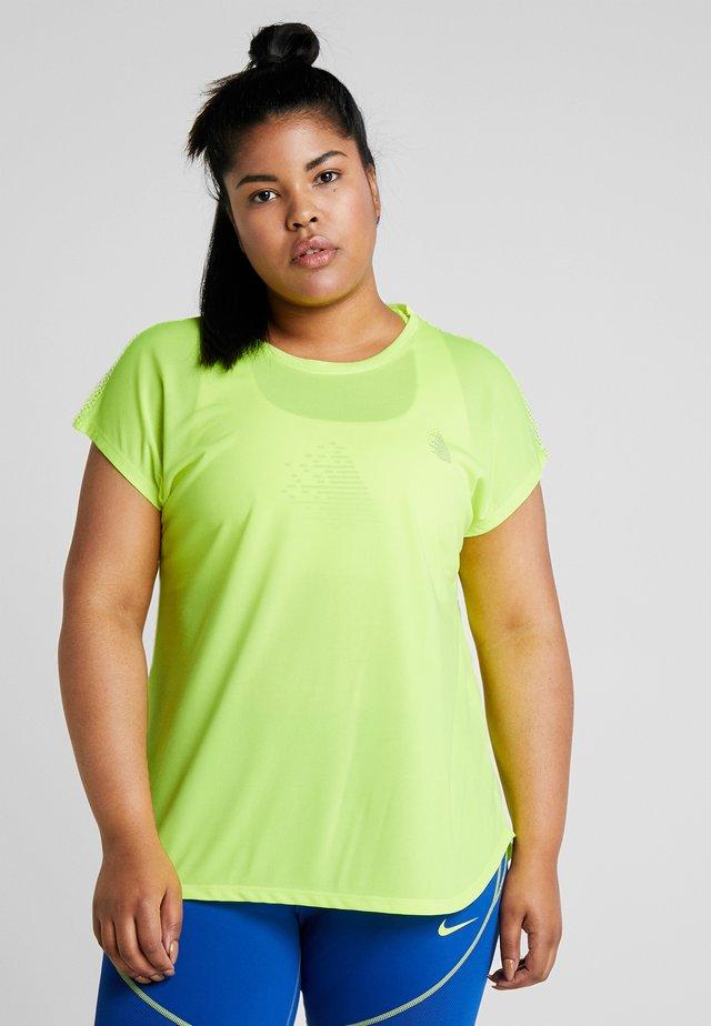 ADIANA - T-shirts med print - neon yellow
