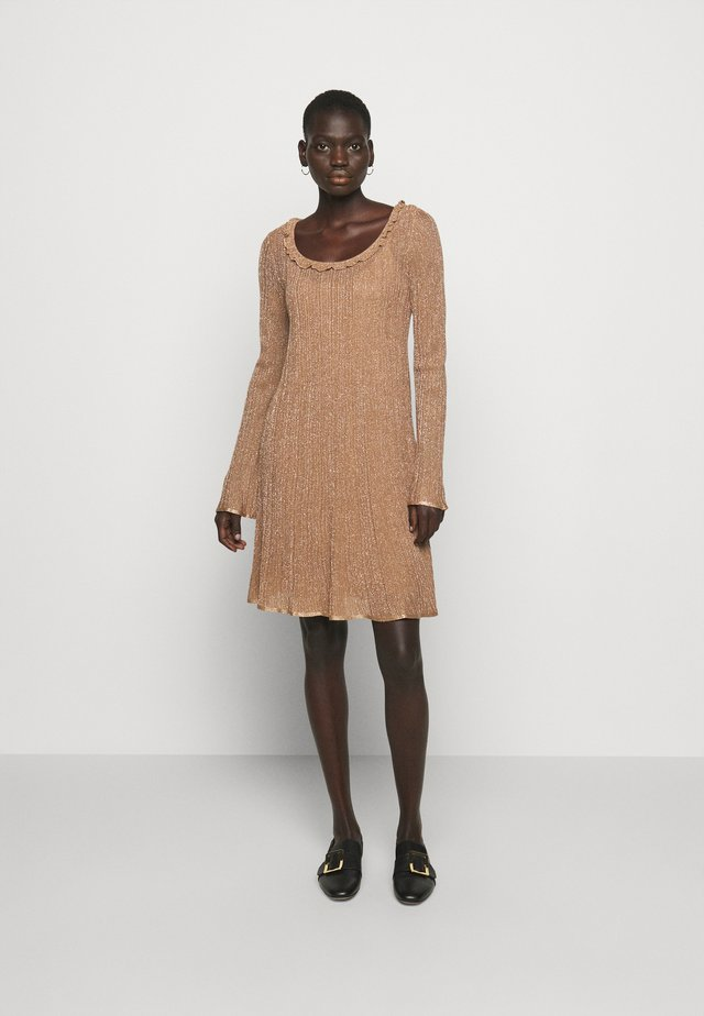 ABITO - Jumper dress - camel