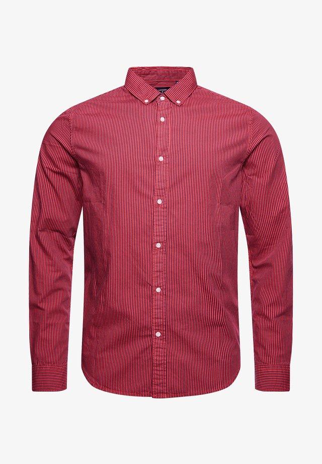 TWILL LITE - Shirt - lychee stripe