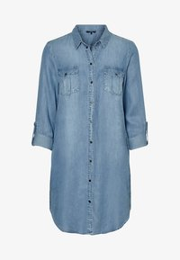 Vero Moda - Dongerikjole - light blue denim - 3