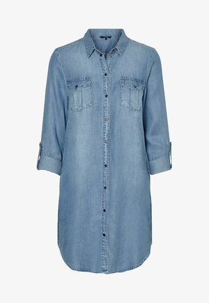 Vestito di jeans - light blue denim