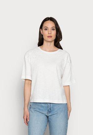 EMBRO - Print T-shirt - off white