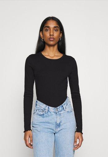 BELINDA - Long sleeved top - black
