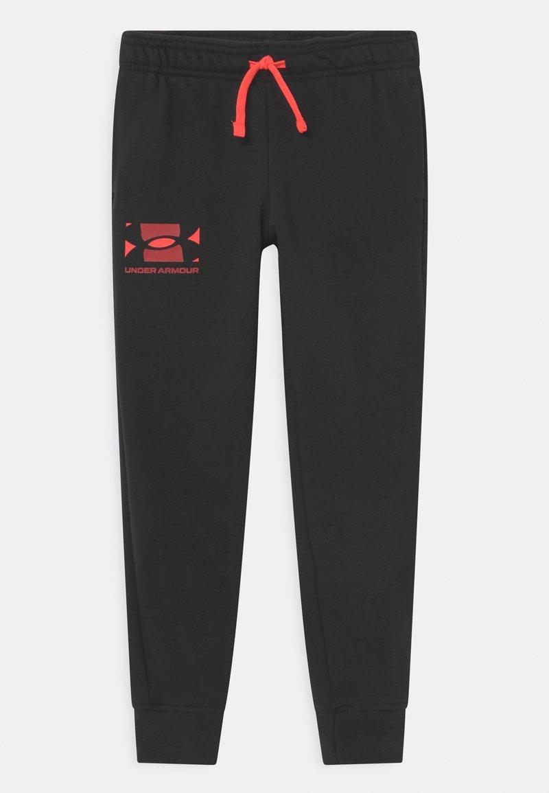 Under Armour - RIVAL UNISEX - Teplákové kalhoty - black