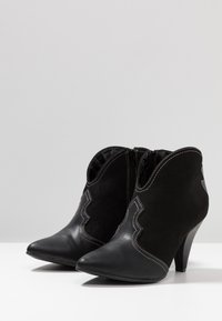 New Look - ELSA - High heeled ankle boots - black - 4