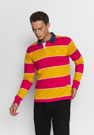 MULTI BARSTRIPE HEAVY RUGGER - Polo shirt - love potion