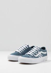 Vans - BESS  - Obuwie deskorolkowe - blue mirage/true white - 2