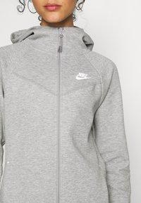 Nike Sportswear - HOODIE - Zip-up hoodie - mottled grey - 5