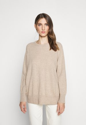 THE SLOUCHY - Sweter - oatmeal