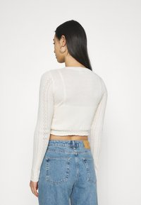 BDG Urban Outfitters - TWIN SET - Cardigan - cream - 3