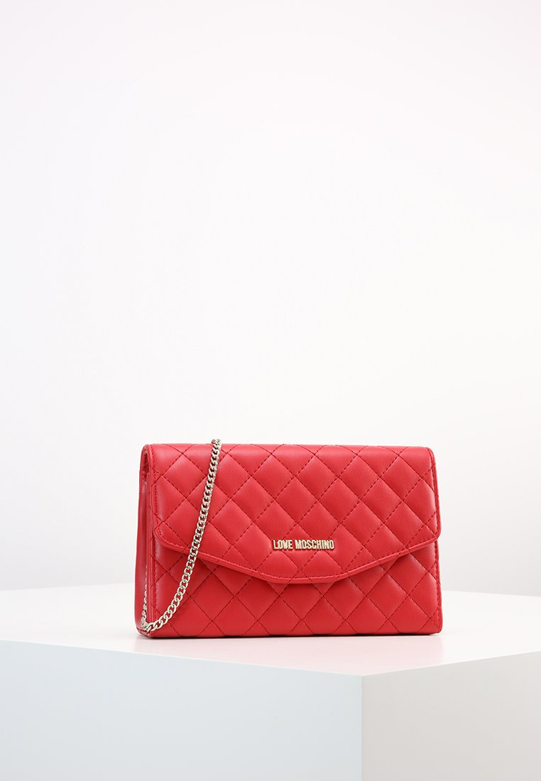 Love Moschino - SUPERQUILTED  - Bandolera - rosso