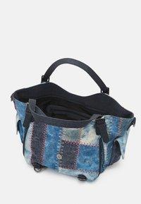 Desigual - BOLS PATCH ROTTERDAM - Handbag - denim dark blue - 2