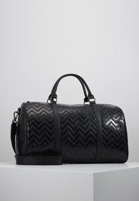 Valentino by Mario Valentino - NUTRIA EMBOSSED WEEKENDER - Sac week-end - nero - 0