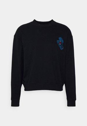 VOID HAND CREW UNISEX - Zip-up sweatshirt - black