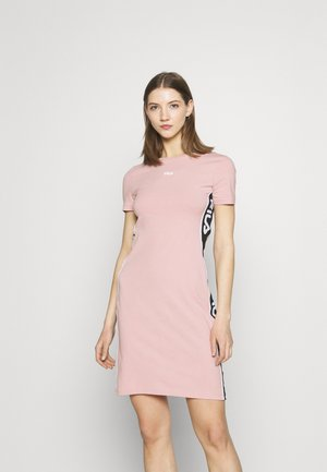 TANIEL TEE DRESS - Jerseykjoler - pale mauve