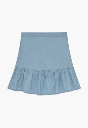 HARPER SKIRT - Mini skirts  - chambray