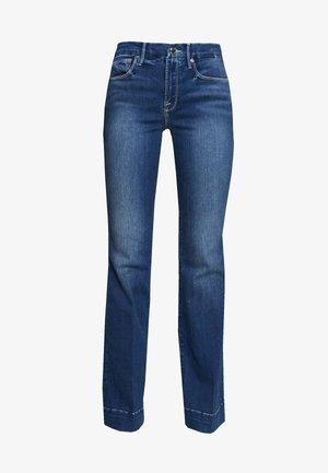 GOOD FLARE - Široké džíny - blue denim