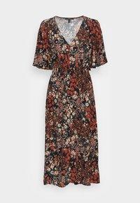 Esprit Collection - FLOWER DRESS - Shirt dress - black - 3
