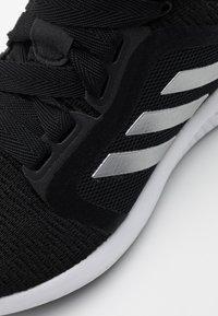 adidas Performance - EDGE LUX 4 BOUNCE SPORTS RUNNING SHOES - Zapatillas de running neutras - core black/silver metallic/footwear white - 5