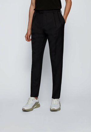 FRENCIS - Trousers - black