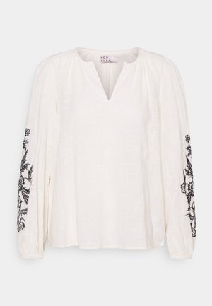 BLOUSE  - Long sleeved top - birch