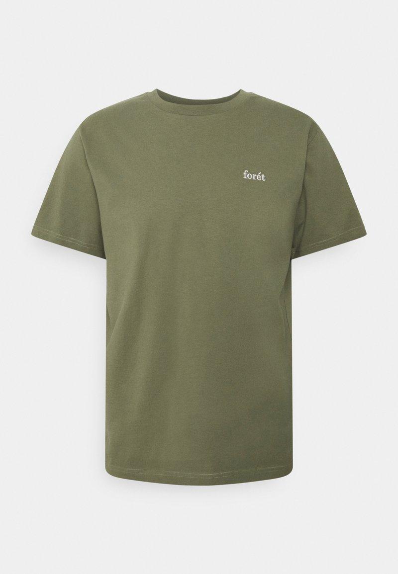 forét - AIR - Basic T-shirt - slate