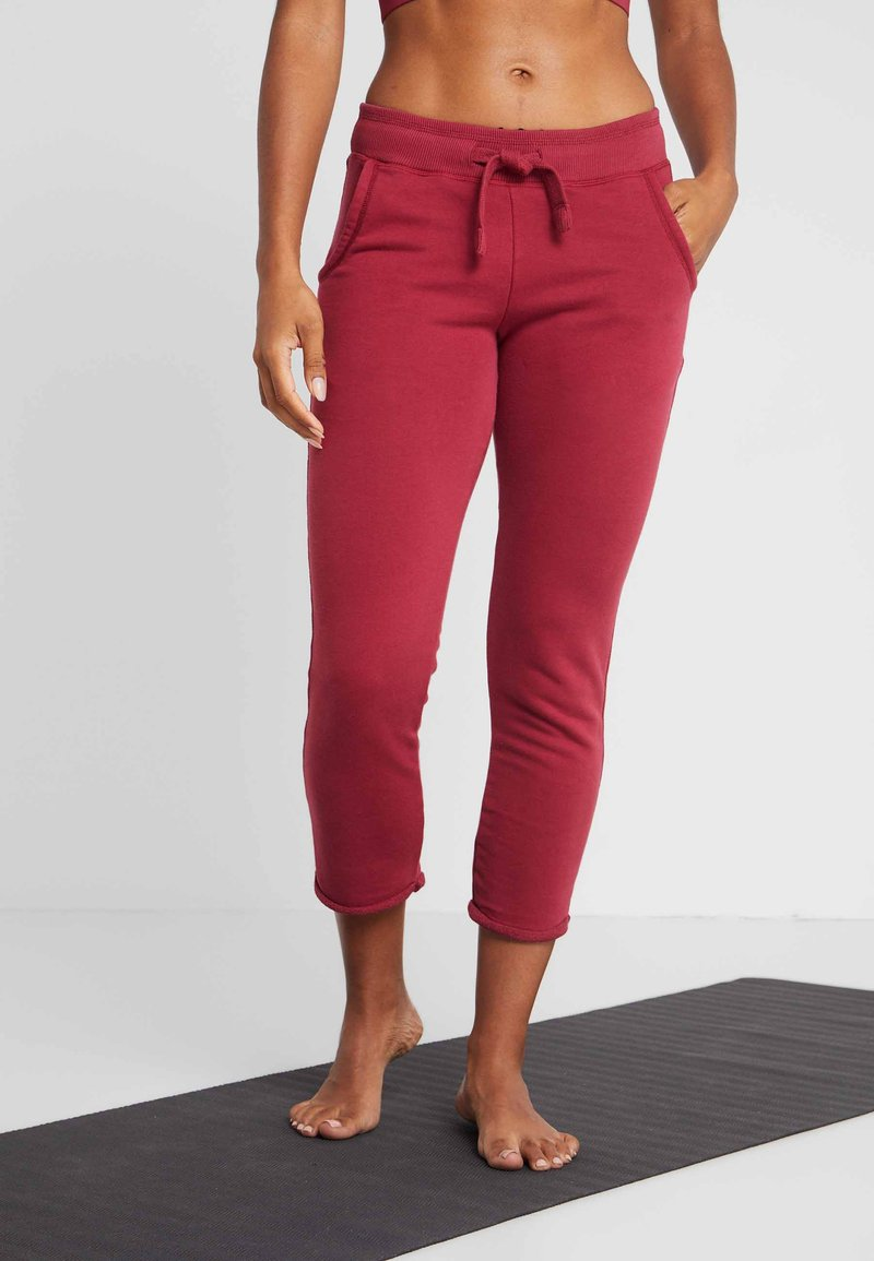 Hey Honey - Tracksuit bottoms - red