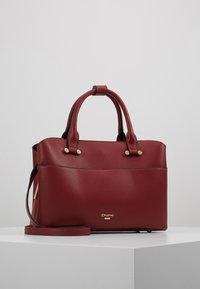 Dune London - DINIDARING SMALL UNLINED - Across body bag - oxblood red - 0