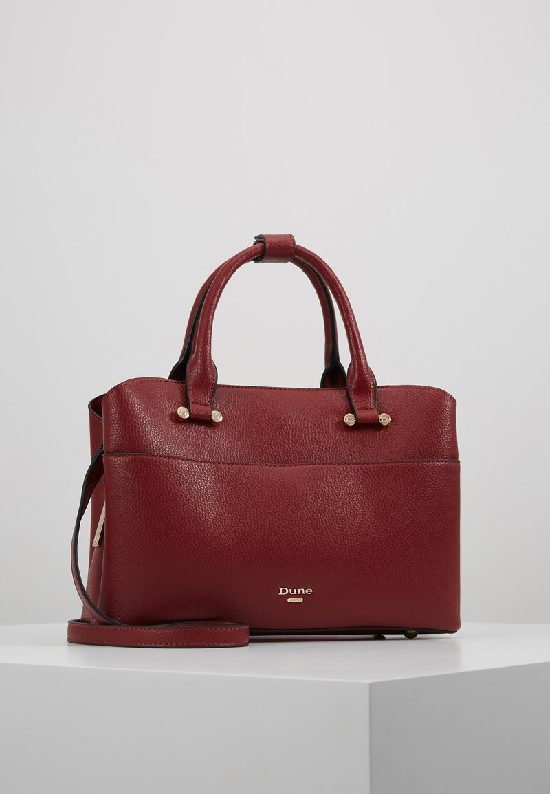 Dune London - DINIDARING SMALL UNLINED - Across body bag - oxblood red