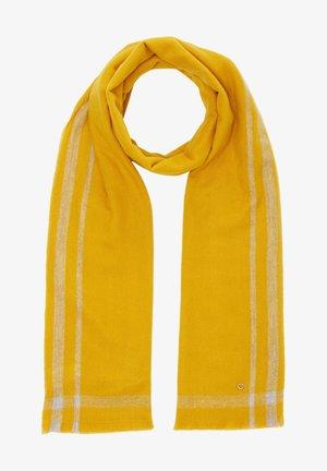 MIT KONTRASTIERTEM RAHMEN - Sjaal - yellow check