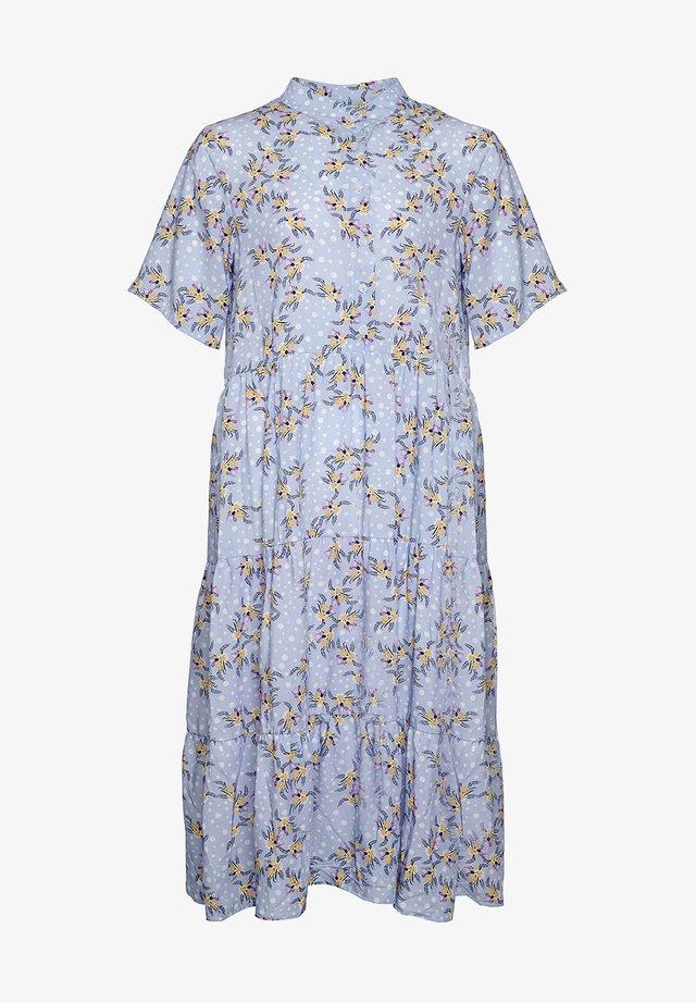 Korte jurk - skyblue