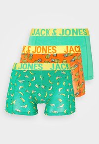 Jack & Jones - 3 PACK JACSUMMER FRUIT TRUNKS  - Culotte - blarney/dragon fire - 4