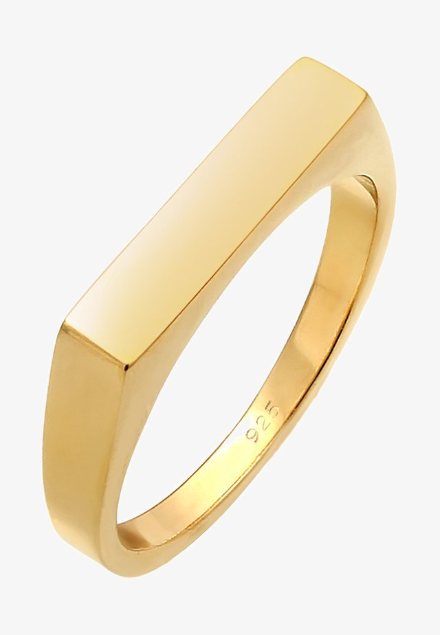 SIEGEL - Anillo - gold-coloured