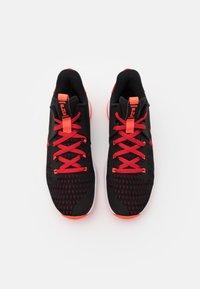 Nike Performance - LEBRON WITNESS 5 - Basketball shoes - black/bright crimson/university red - 3