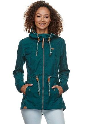 MONADIS - Outdoor jacket - petrol