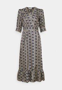 sandro - Day dress - beige/bleu - 7