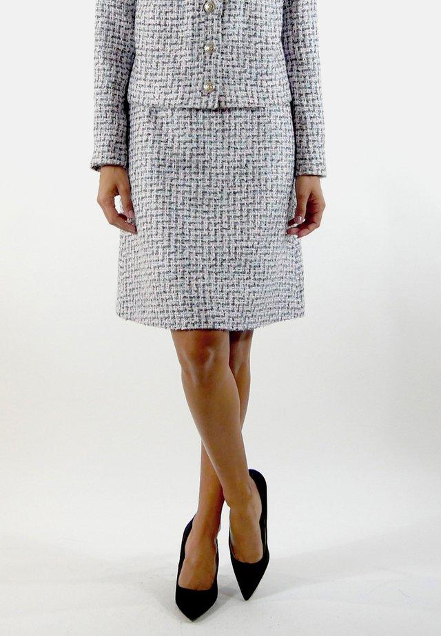 GABRIELLE - A-line skirt - pink/blue/white