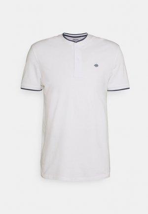 T-shirt med print - bright white