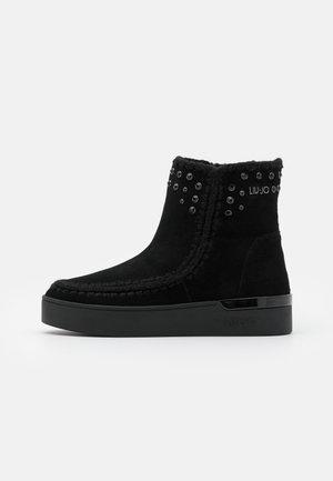 SILVIA  - Platform ankle boots - black