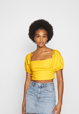 MILKMAID ZIP UP - Blouse - yellow